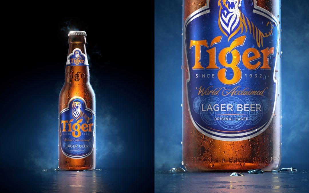 Tiger Beer | 3D Product Rendering